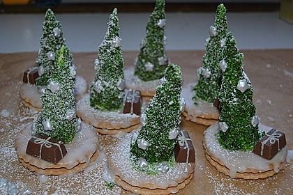 Weihnachtsbäumchen zum Essen 27