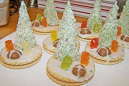 Weihnachtsbäumchen zum Essen 101