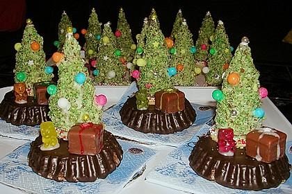 Weihnachtsbäumchen zum Essen 48