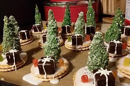 Weihnachtsbäumchen zum Essen 55