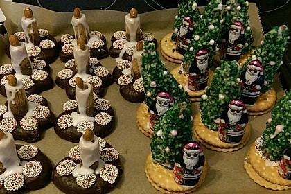 Weihnachtsbäumchen zum Essen 111