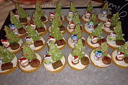 Weihnachtsbäumchen zum Essen