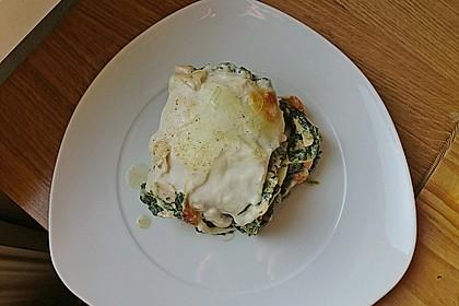 Lachs - Garnelen - Spinat - Lasagne 14