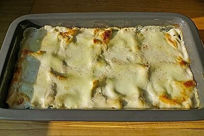 Lachs - Garnelen - Spinat - Lasagne 13