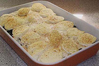Lachs - Garnelen - Spinat - Lasagne 12