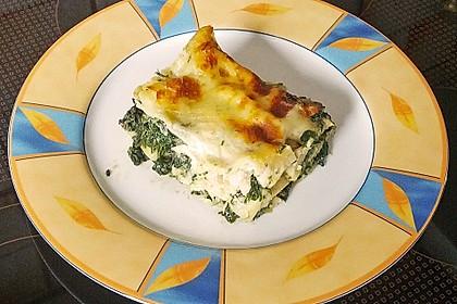 Lachs - Garnelen - Spinat - Lasagne 1