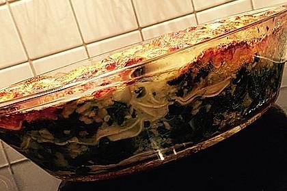 Lachs - Garnelen - Spinat - Lasagne 15