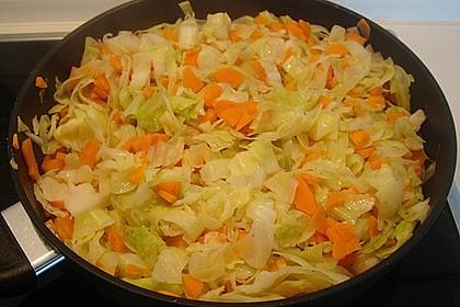Wunderbare Spitzkohl - Möhren - Lasagne 28