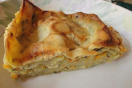 Wunderbare Spitzkohl - Möhren - Lasagne 8