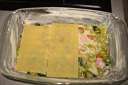 Wunderbare Spitzkohl - Möhren - Lasagne 20