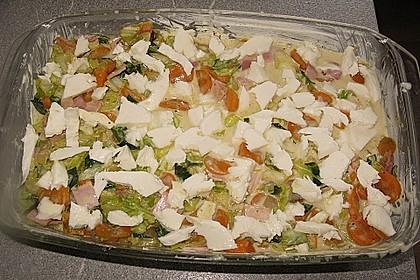 Wunderbare Spitzkohl - Möhren - Lasagne 21