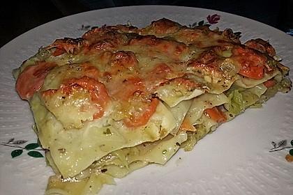 Wunderbare Spitzkohl - Möhren - Lasagne 16