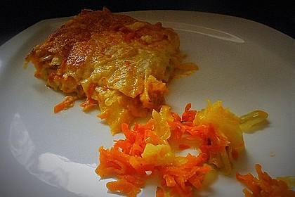 Wunderbare Spitzkohl - Möhren - Lasagne 13
