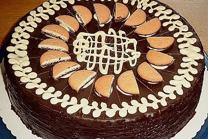 Schoko - Orange Cake