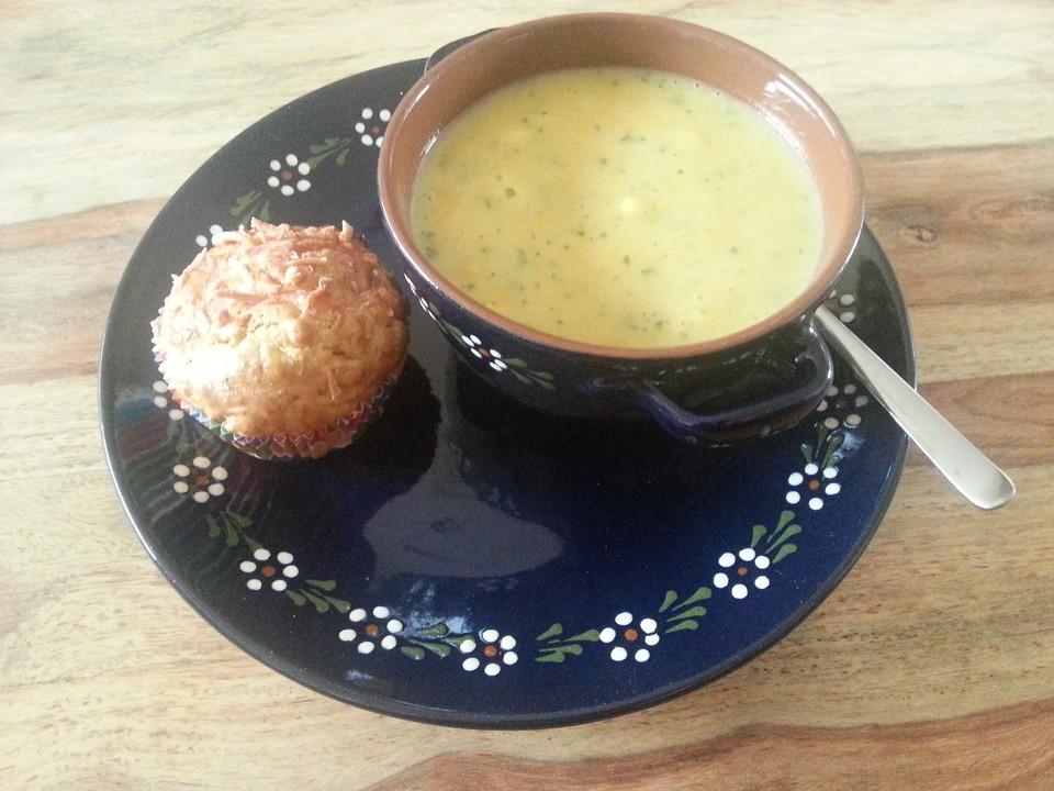 gelbe zucchini k se suppe rezept mit bild von. Black Bedroom Furniture Sets. Home Design Ideas