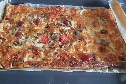 Blätterteig - Pizza 3