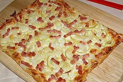 Blätterteig - Pizza