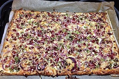 Blätterteig - Pizza 2