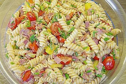 Nudelsalat mit Brunch Paprika-Peperoni 2