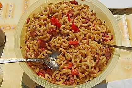 Nudelsalat mit Brunch Paprika-Peperoni 10
