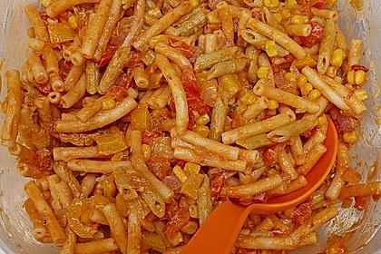 Nudelsalat mit Brunch Paprika-Peperoni 8