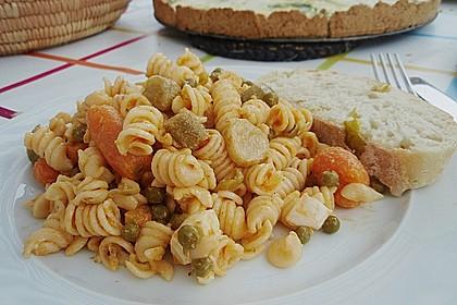 Nudelsalat mit Brunch Paprika-Peperoni 6