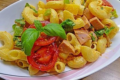 Nudelsalat mit Brunch Paprika-Peperoni 4