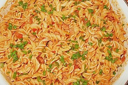 Nudelsalat mit Brunch Paprika-Peperoni 9