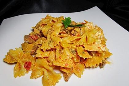 Nudelsalat mit Brunch Paprika-Peperoni 7