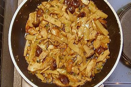 Asiatische Hühnchenpfanne 1