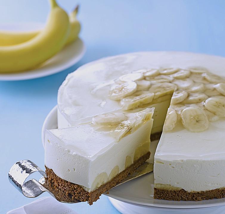 philadelphia torte banane rezept mit bild von kraft foods. Black Bedroom Furniture Sets. Home Design Ideas