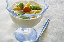 Orangen - Dessert ala Kräuterjule