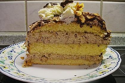 Cappuccino - Nuss Torte 5
