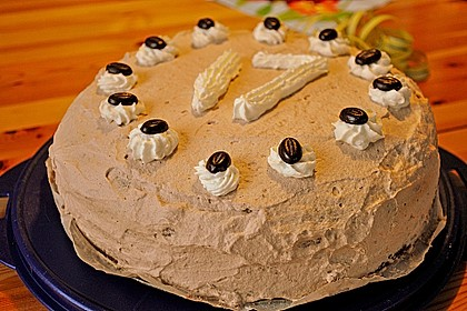 Cappuccino - Nuss Torte 8