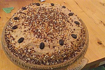 Cappuccino - Nuss Torte 7