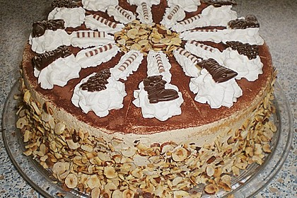 Cappuccino - Nuss Torte 3