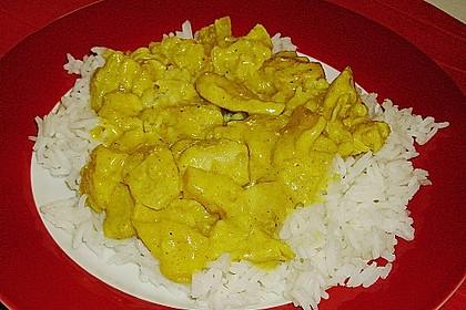 Curryfleisch mit Banane 3