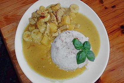 Curryfleisch mit Banane 4