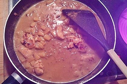 Curryfleisch mit Banane 10