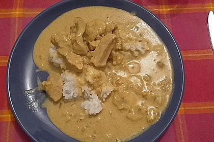 Curryfleisch mit Banane 7