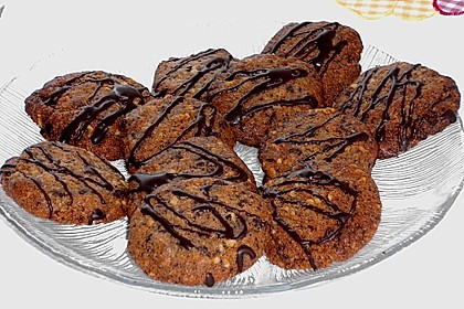 Walnuss - Schoko - Cookies