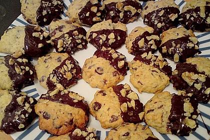 Walnuss - Schoko - Cookies 3