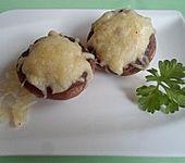 Gegrillte Knobi - Champignons