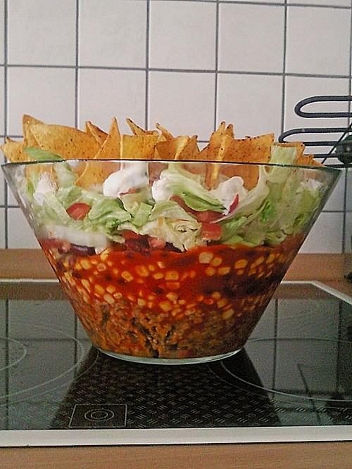 nacho salat rezept mit bild von schafschen. Black Bedroom Furniture Sets. Home Design Ideas