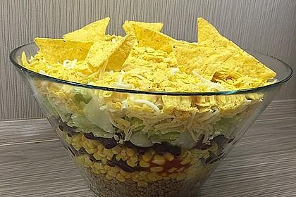 Partysalat mit nachos