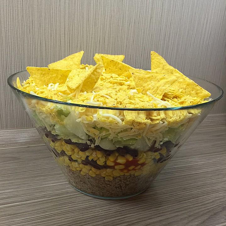 Taco salat einen tag vorher zubereiten