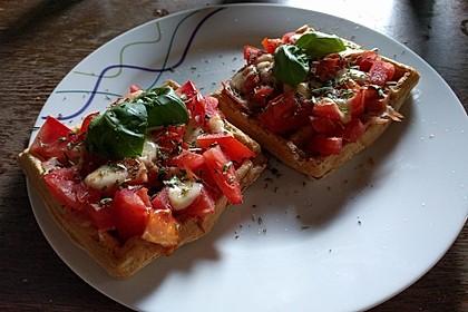 Pizza - Waffeln