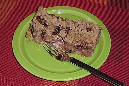 Omas Streusel - Zwetschgenkuchen mit Mürbteig 13