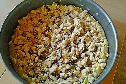 Omas Streusel - Zwetschgenkuchen mit Mürbteig 12