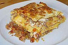 Lasagne mit Fleisch - Ragout